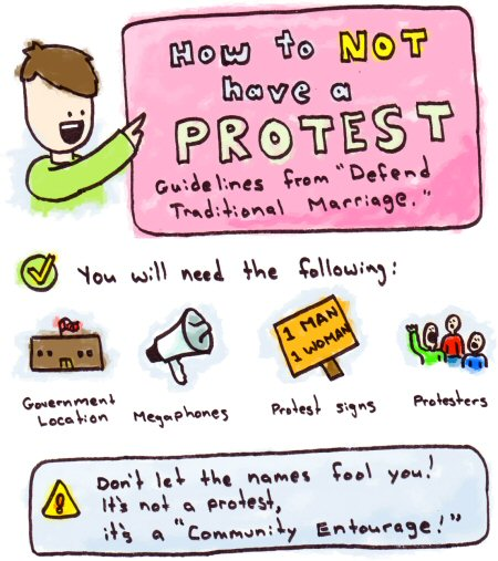 How to Not Hold a Protest
