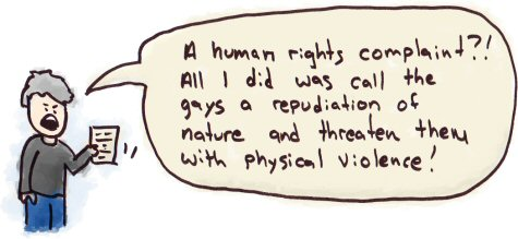 Human Right's Complaint