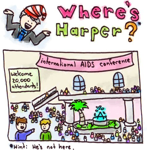Where's Harper?