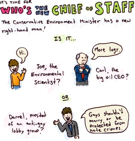Chief of Staff, Darrel Reid
