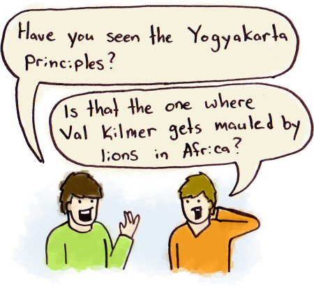 Slap Upside The Head: The Yogyakarta Principles