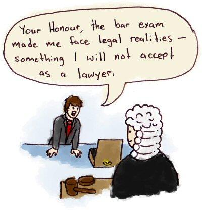Bar exam question case