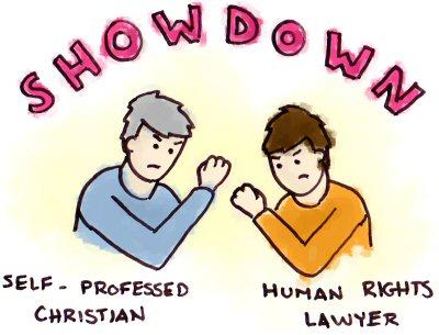Human Rights Showdown