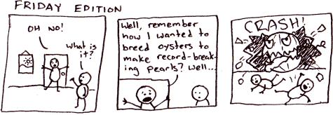 Terrible Birthday Comics: Giant Pearls