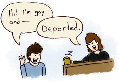 Gay Deportation Policy