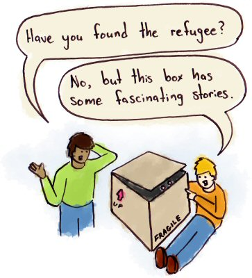 Hiding Gay Refugee