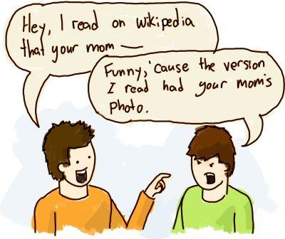 Wikipedia War