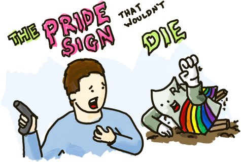The Pride Sign That Wouldn't Die