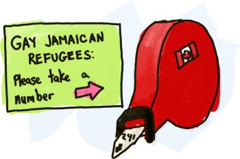 Another Gay Jamaican Refugee