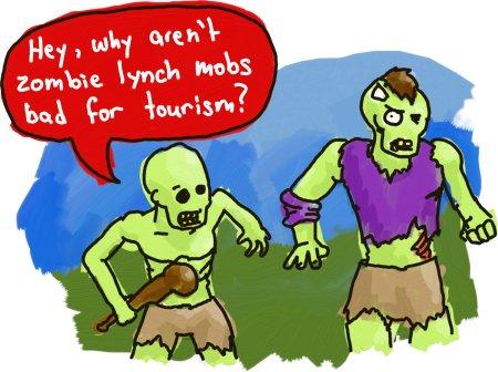 Jamaican Zombie Mobs