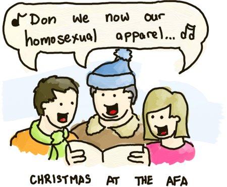 An AFA Christmas