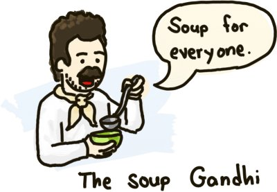 No soup for nobody!