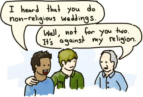 Religious views on homosexual marriage