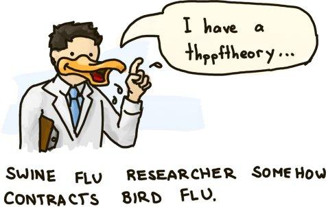 Quack, quack, quack...