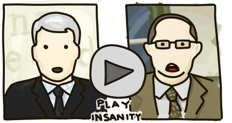 Play Insanity: A clip of an Anderson Cooper interview with Andrew Shirvell