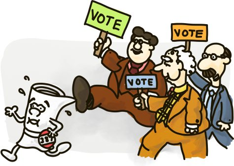 A School House Rock bill gets trampled by election-happy politicians.