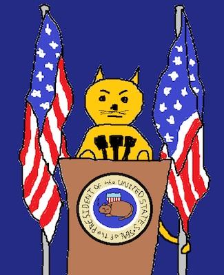 President cat.