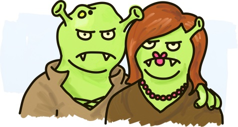 An ogre family
